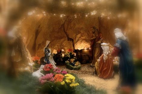 Menino Jesus no Presépio