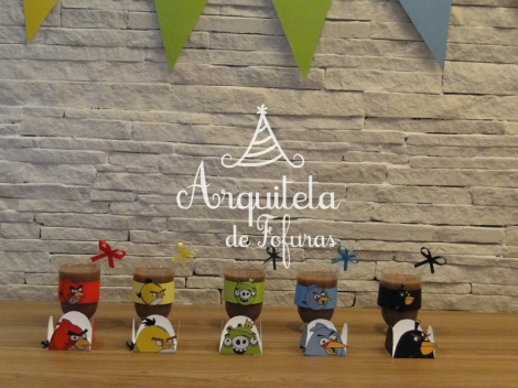 Kit festa papelaria personalizada ANGRY BIRDS