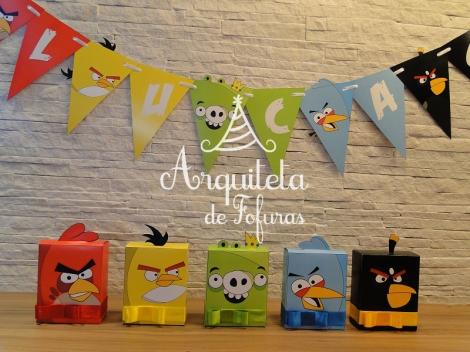 Kit festa personalizada Angry Birds Lembrancinhas