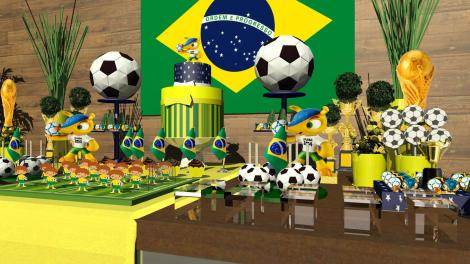 Festa Fuleco |Copa do Mundo Futebol |Arquiteta de Fofuras